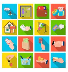 Credit card money bargain calculator auction vector