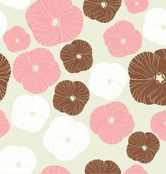 Floral pattern Seamless background vector image