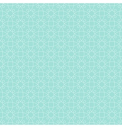 pattern mint geometric vector image vector image