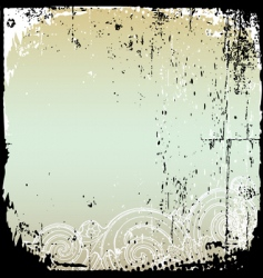 Grunge frame and border series vector