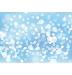 Blurry lights background vector image vector image