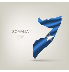 Flag of Somalia as a country vector image vector image