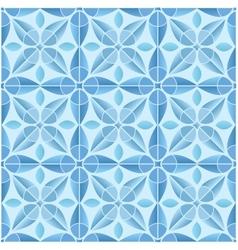 Kaleidoscope tile seamless pattern background vector