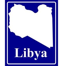 Libya vector image vector image