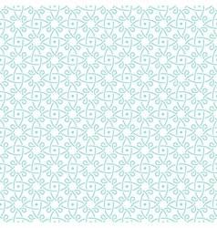 pattern mint geometric bold vector image vector image