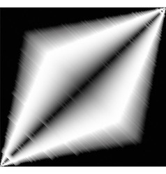 Black and white light effect aluminium vector