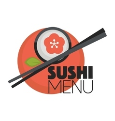 Logo design for restaurants of Japanese food vector image vector image