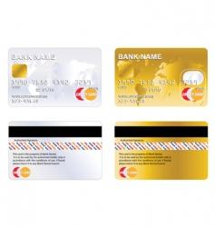 credit card vector image