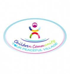 Children community symbol vector