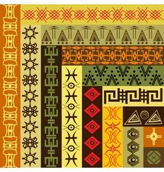african motifs vector image