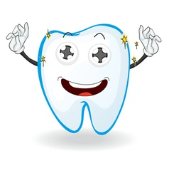 a tooth vector image vector image