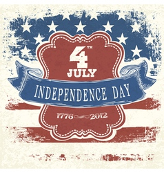 independence day poster design vector image