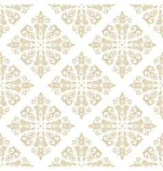 Seamless golden background vector