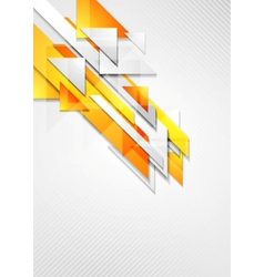 Bright hi-tech geometry background vector image vector image