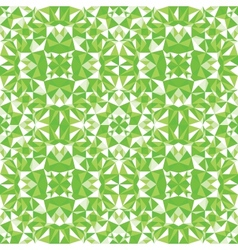 Green triangle texture seamless pattern background vector image vector image