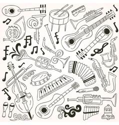 Jazz - doodles vector
