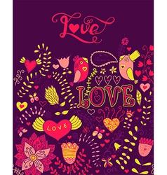 Love watercolor lettering watercolor letters love vector