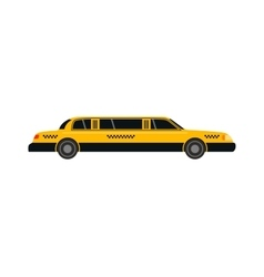 Taxi yellow car style vector image vector image