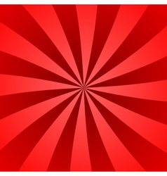 Red rays poster wave burst vector