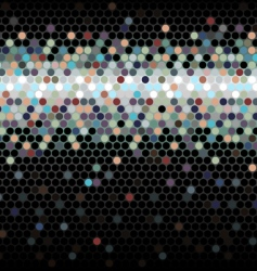 abstract background Dots vector image