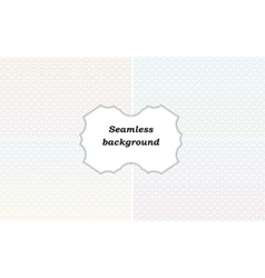 Seamless background for certificate vector image