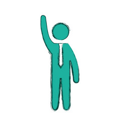 Male pictogram symbol vector