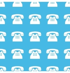 Phone straight pattern vector