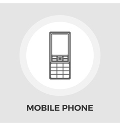 Phone flat icon vector