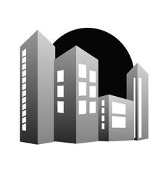 building color vector image