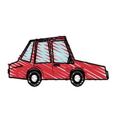 Car toy little vector