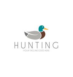 Hunting logo vector