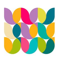Minimal geometric pattern on white corporate vector