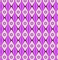 Patterns geometric diamond purple vector