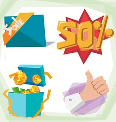 Sale object vector