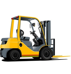 0541 forklift 01 vector image vector image