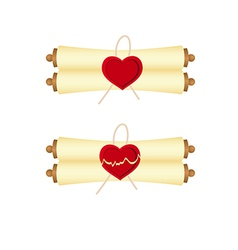 manuscript valentines 1312 01 vector image