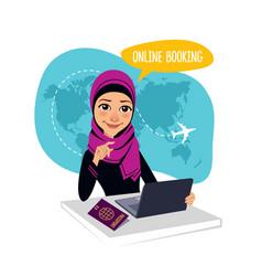 Online booking banner air tickets online booking vector