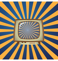 Television graphic vector image vector image