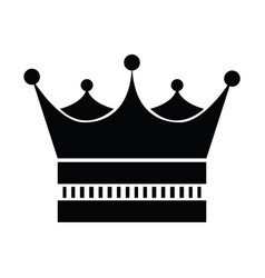 Crown of the king vector
