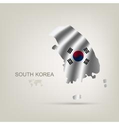 flag of South Korea as a country vector image