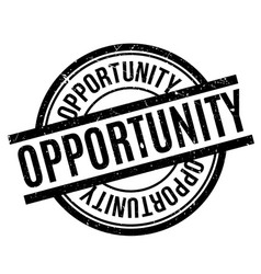 Opportunity rubber stamp vector