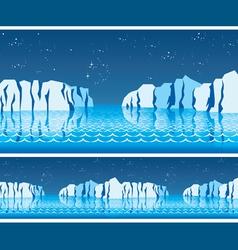 polar ice vector image