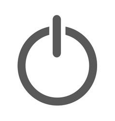 power icon simple vector image