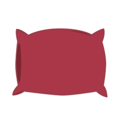 single pillow icon vector image