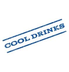 Cool drinks watermark stamp vector
