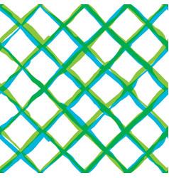 Diagonal cross brush strokes seamless pattern vector