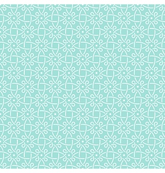 pattern mint geometric celtic vector image vector image