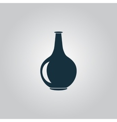Amphora icon vector