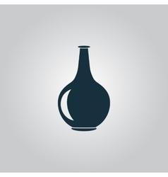 Amphora icon vector