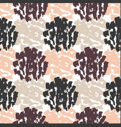 Autumn seamless pattern textures hand drawn vector